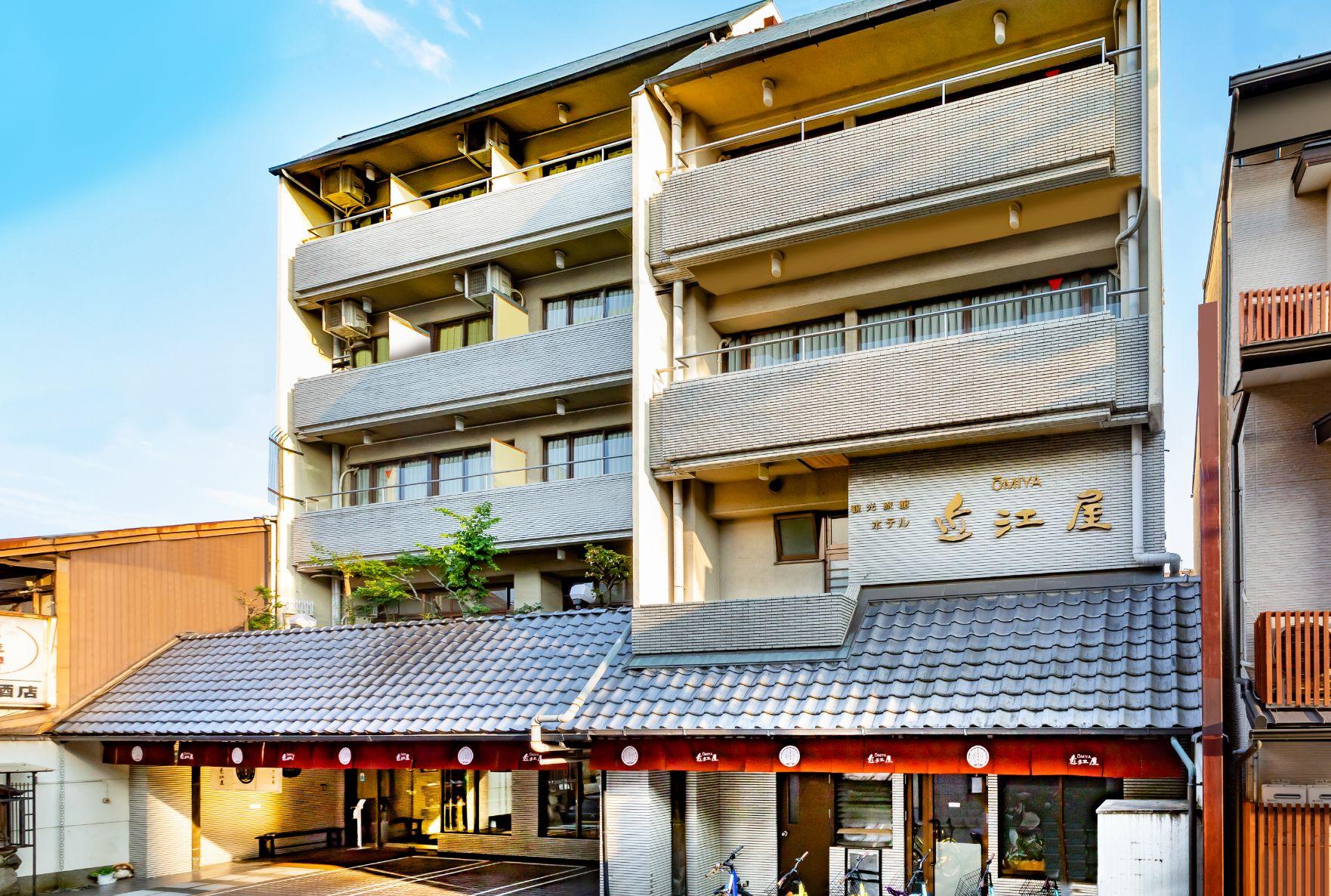 観光旅館 ホテル近江屋 外観写真
